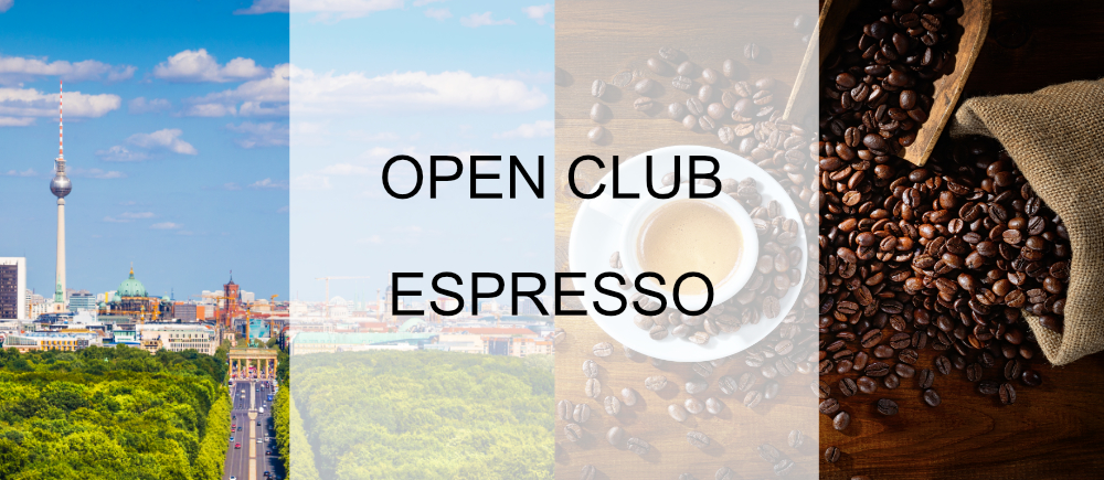 Open Club Espresso (Berlin) - September