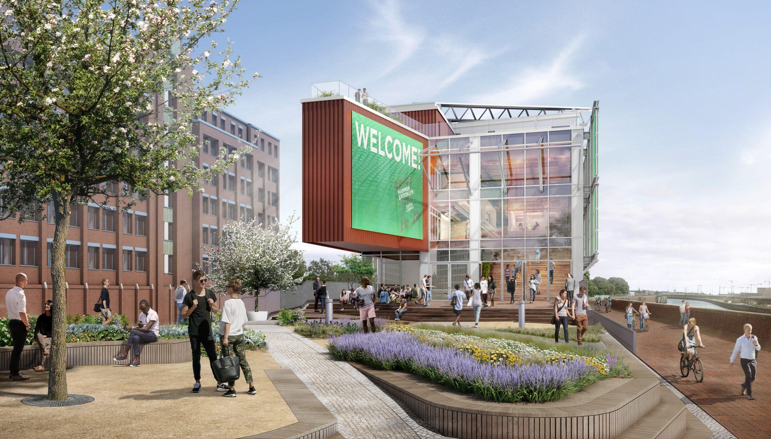 Behind the Scenes: Hammerbrooklyn Digital Pavillon  – hier wird digital real